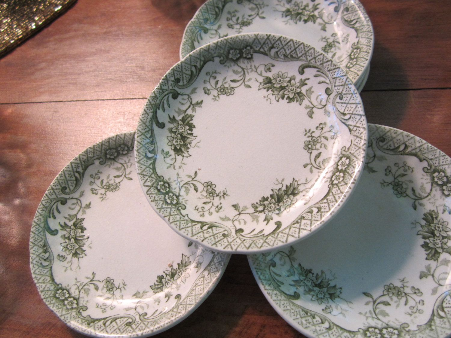 On hold for abbey do not purchase vintage haviland butter pats