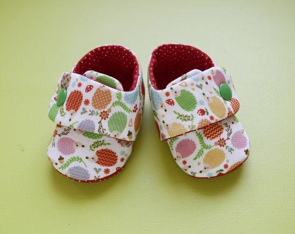 Sapatinho Para Bebês - Botão