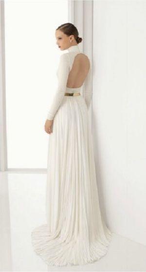 mayor selección de vestidos de novia con espalda descubierta   bodas