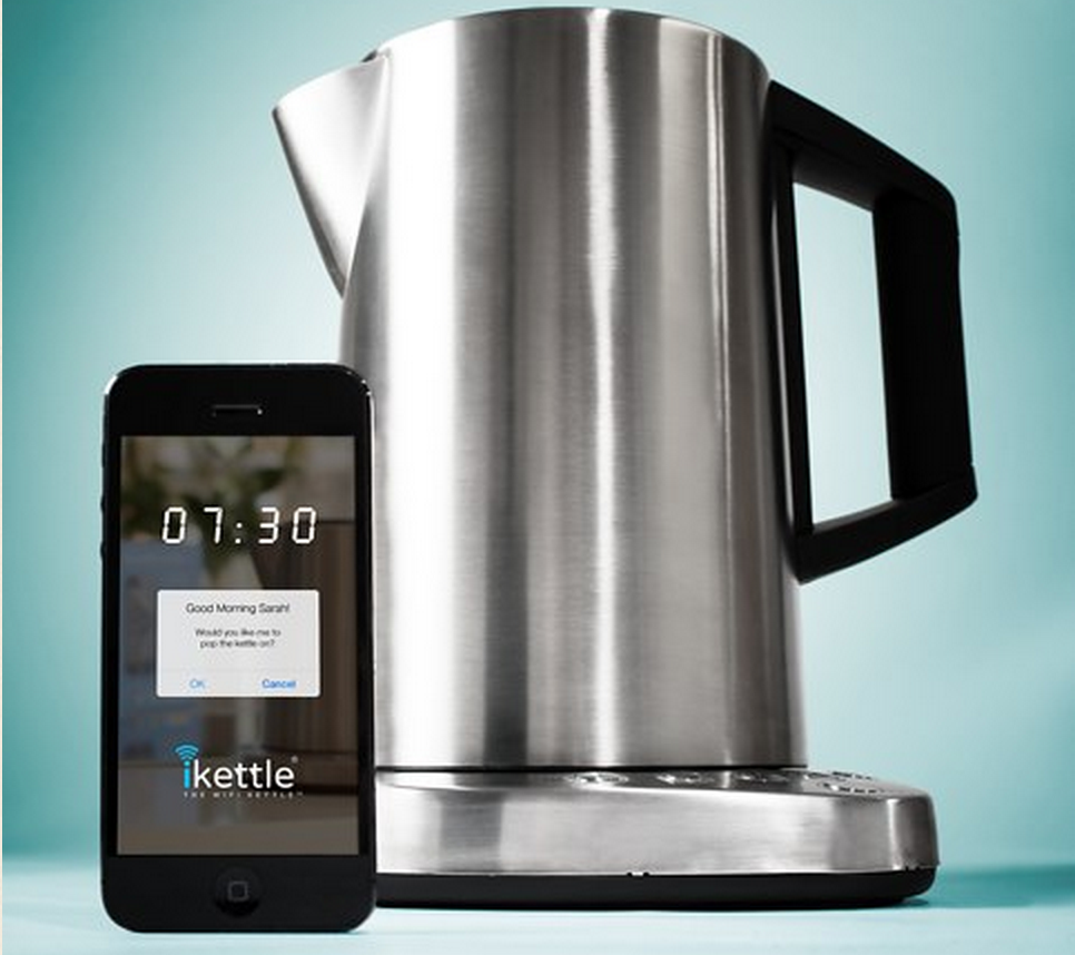 The iKettle has WiFi and can be boiled from an iPhone. No, really.