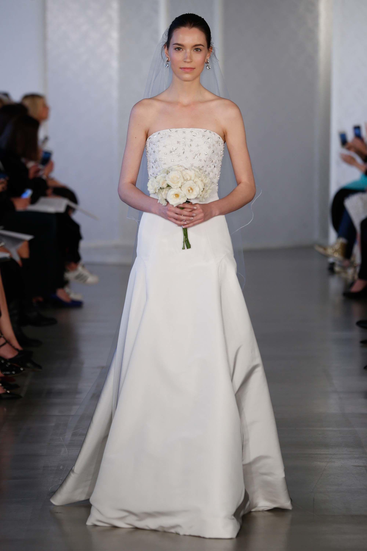 Oscar de la Renta Bridal Spring 2017 Fashion Show | Wedding dress ...
