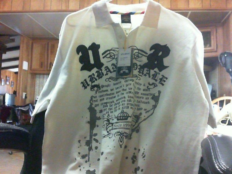 NWT Old Skool Urban Royale Cream Shirt      SZ: M NEW #Oldskool #Vneck