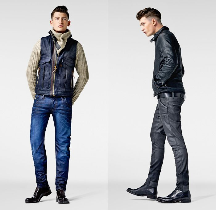 på fötter kl affär Perfekt kvalite G-Star RAW 2013-2014 Winter Mens Lookbook: Designer Denim Jeans ...