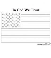 Free US flag coloring sheet. This makes a great tool used with the ...