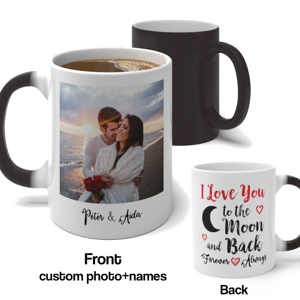 I Loved You...Heat Colour Changing Mug This is to My Wonderful Girlfriend