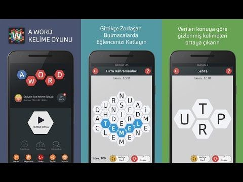 A Word Mobil Bulmaca Oyunu Merhabalar, RockNRogue kanalındasınız. Kanalımızda mobil oyun videoları çekiyoruz. Her türlü mobil oyunu bulabilir ya da önerebilirsiniz. Beğendiyseniz kanalıma abone olabilirsiniz.Ayrıca hemen altta bulunan sosyal ağlardan kanalı ve diğer mobil oyun haberlerini takip edebilirsiniz. Abone Ol: http://go.shr.lc/2jrkoMd İnternet Sitem: http://www.oyunda.org Facebook: https://www.facebook.com/mobiloyunvideo/ Google Plus: https://plus.google.com/+RockNRogue Tumblr…