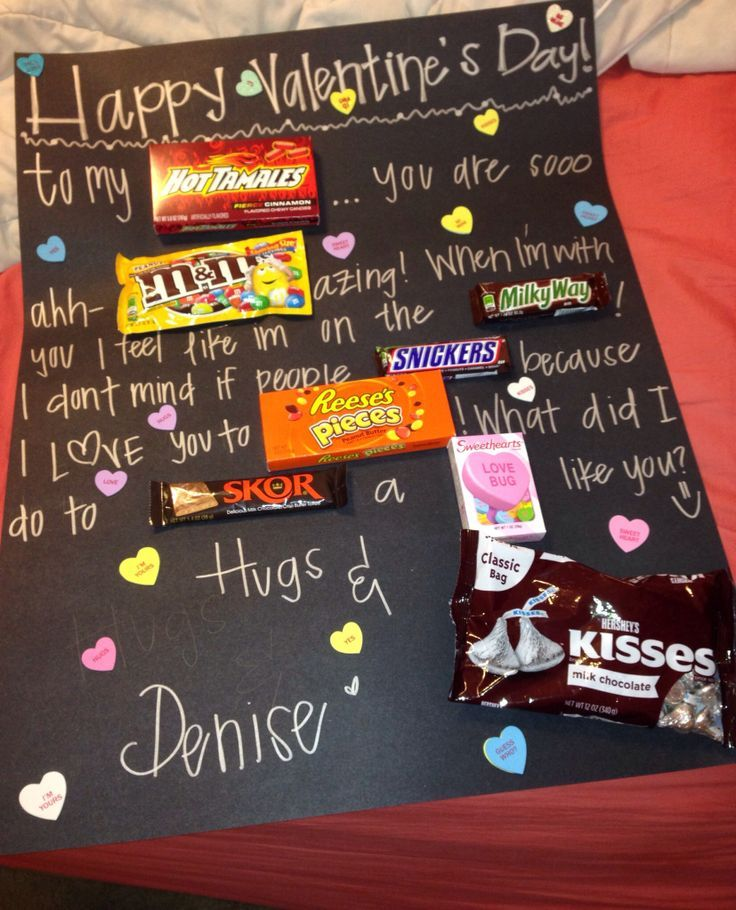 Pinterest valentine gifts for boyfriend awesome unique romantic candy bar poster for boyfriend with pinterest valentine gifts for boyfriend negle Images