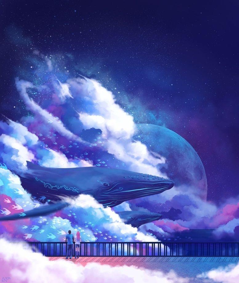Returning Home, an art print by Aurora Lion