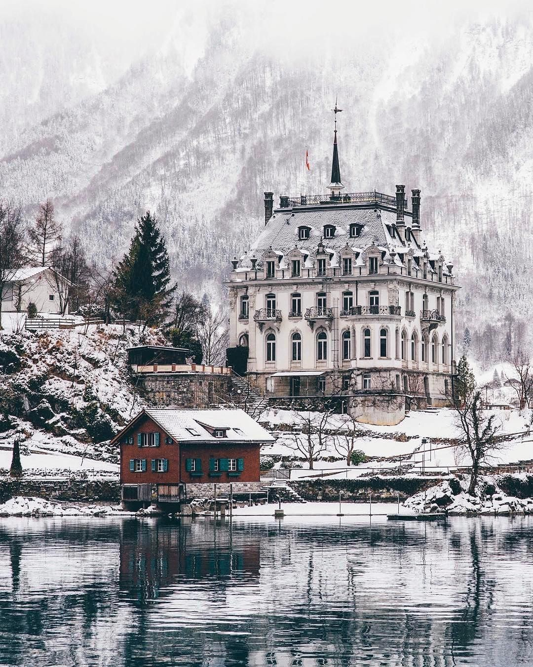 Iseltwald (berne) In The Winter - Travel