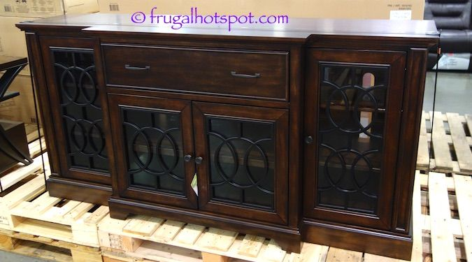Bayside Furnishings 72 Tv Console Costco Frugalhotspot