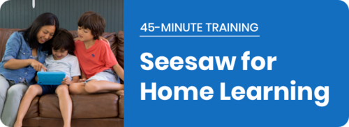 Remote Learning with Seesaw Guide for Teachers in 2020