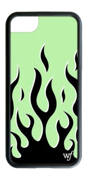 Neon Flames iPhone SE/6/7/8 Case