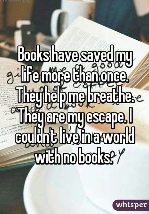 22 Whisper Secrets Relatable to Most Booklovers -