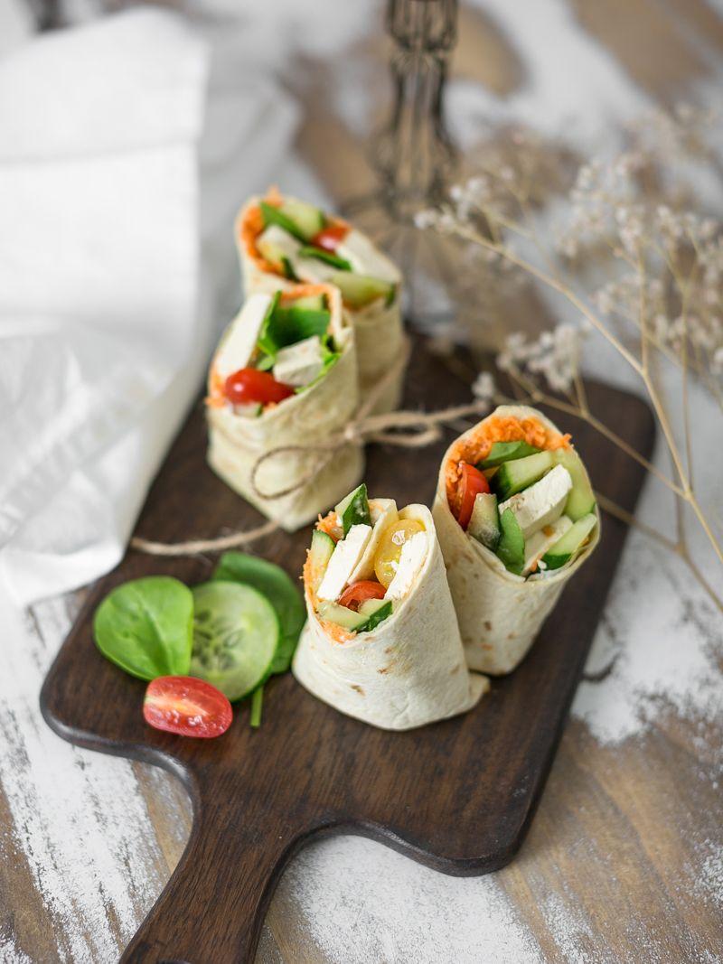 Recette healthy : 3 idées de wraps minceur facile à faire pour un déjeuner