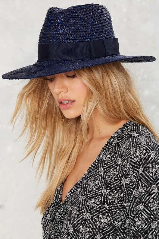 Brixton Joanna Straw Hat - Black - What s New  73ef8572457c