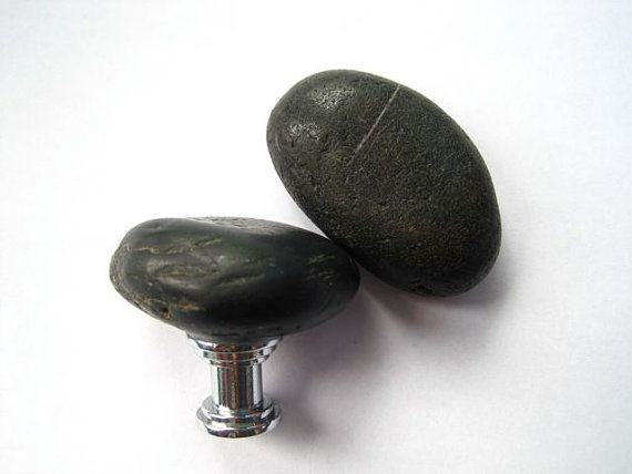 Charming Cabinet Knobs   Love River Stones.