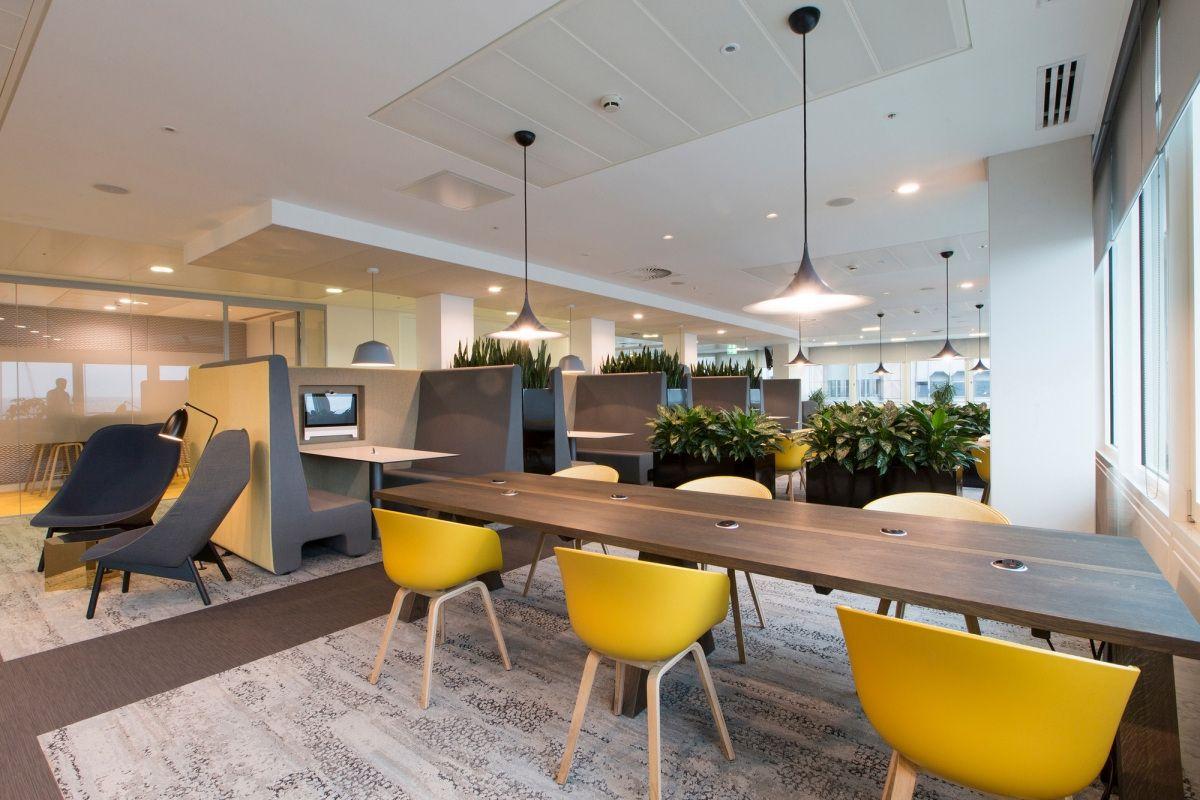 Office Tour Aspen Insurance Offices London Canteen Design