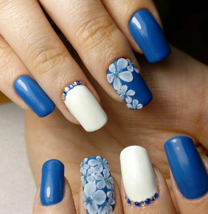 Pin by Hulita Vaitai on French Manicures | Pinterest | Nail art 3d ...