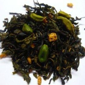 Reine de Saba, Tnature. Thé vert pistache vanille figue cardamome.