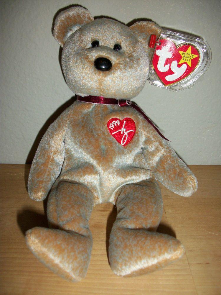 1999 TY BEANIE BABIES SIGNATURE BEAR 0cddc5be7dd