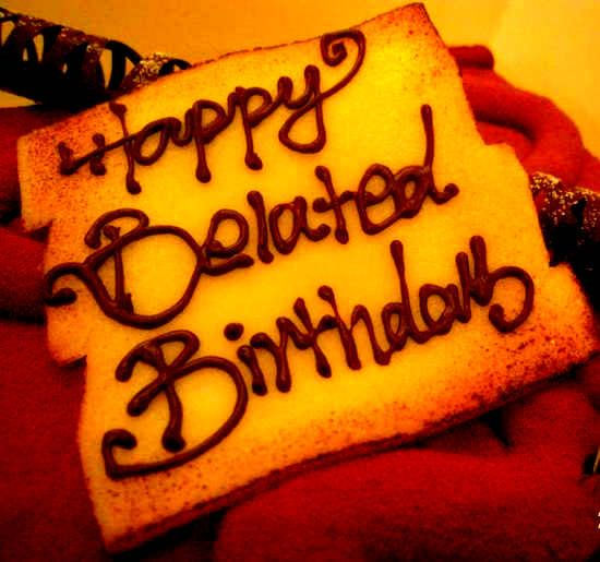 Get Free Belated Happy Birthday Images, Photos, Pics And