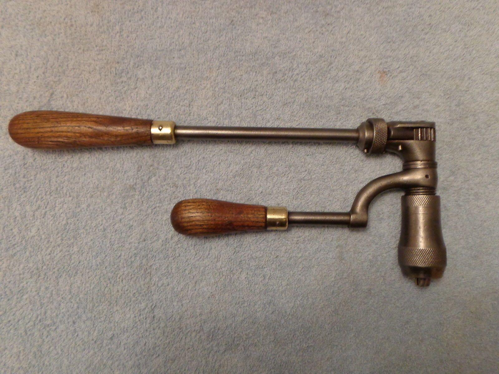 Vintage drill hand