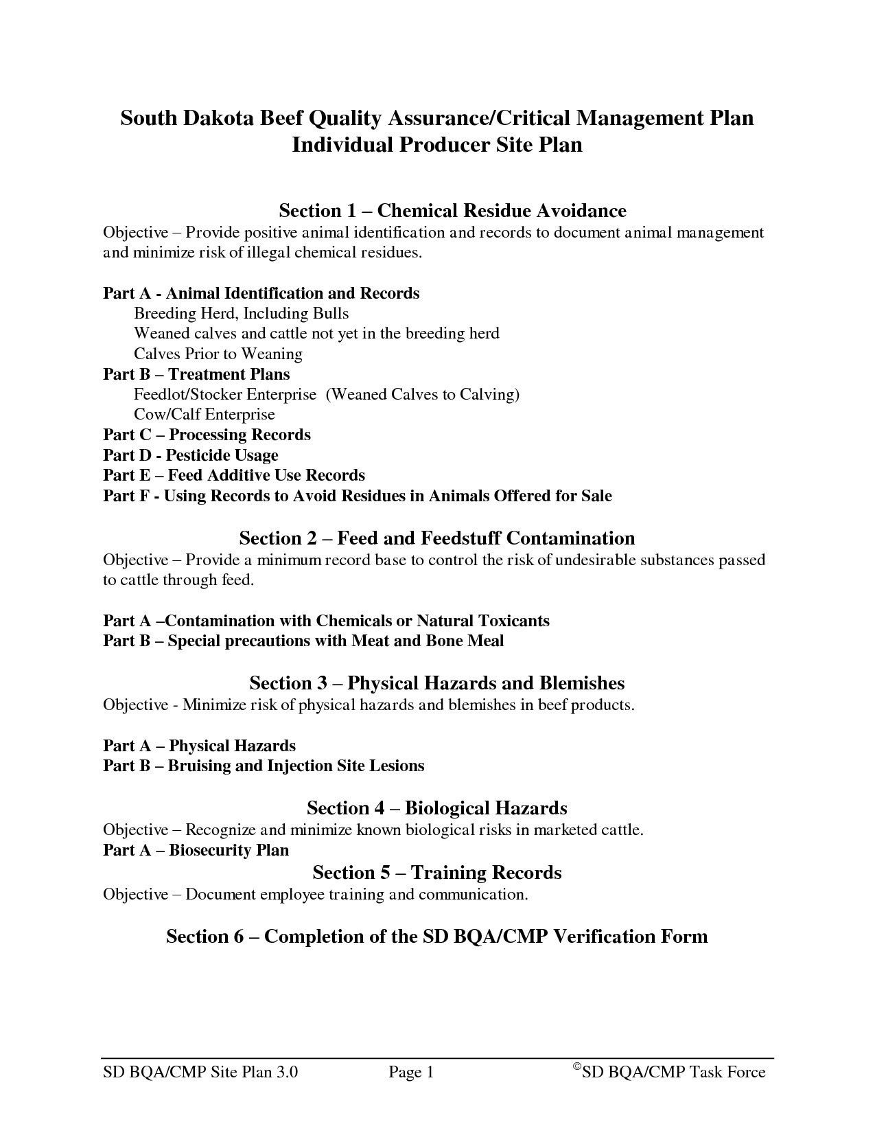 Valid Dairy Farm Business Plan Template Business plan