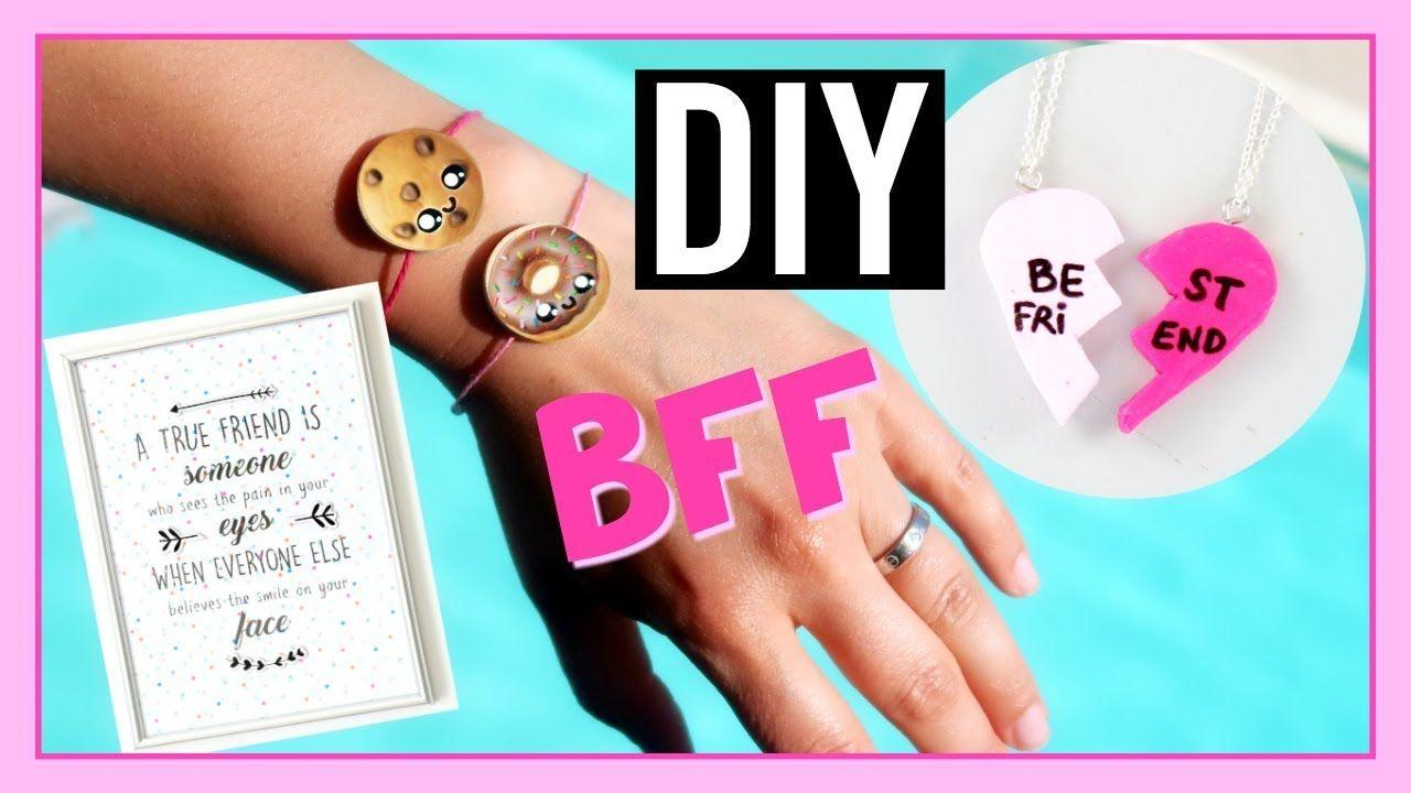 Diy Best Friends Bff Idees Cadeaux Meilleures Amies Diy Kawaii