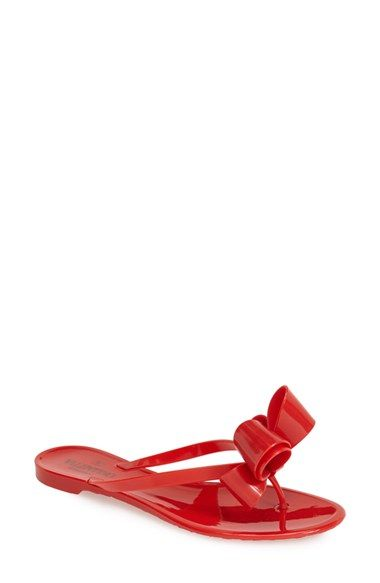 c8bae9ae1a844 Valentino Couture Bow Thong Sandal (Women) available at  Nordstrom ...