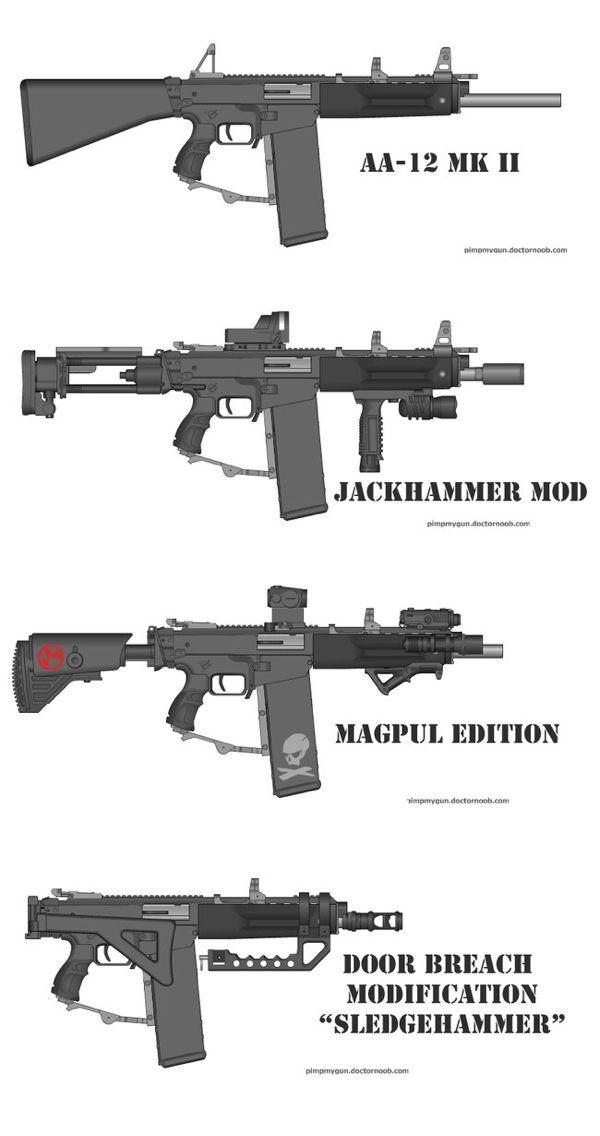 I need one AA-12
