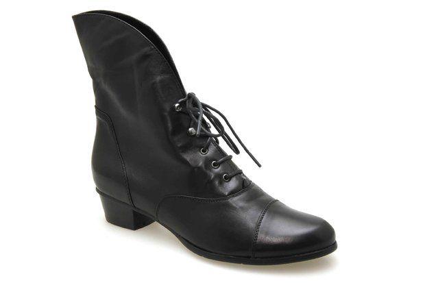 Bottines REGARDE LE CIEL STEFANY Noir - Chaussures femme