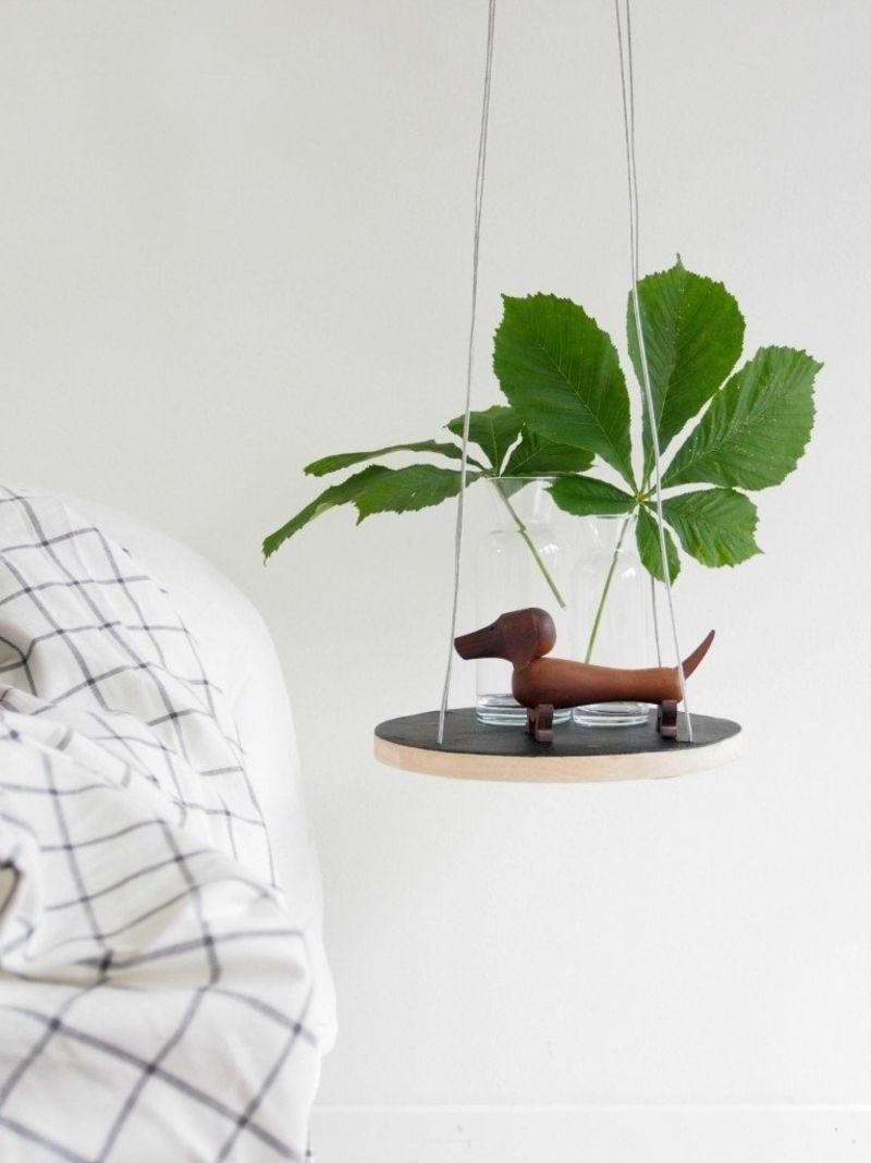 Nachttisch Zum Einhangen Praktische Schlafzimmerlosung Handmade