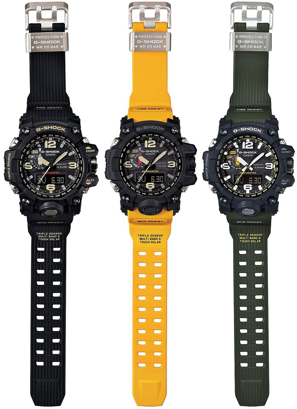 Casio G Shock Mudmaster G Shock Mudmaster Casio G Shock Watches G Shock