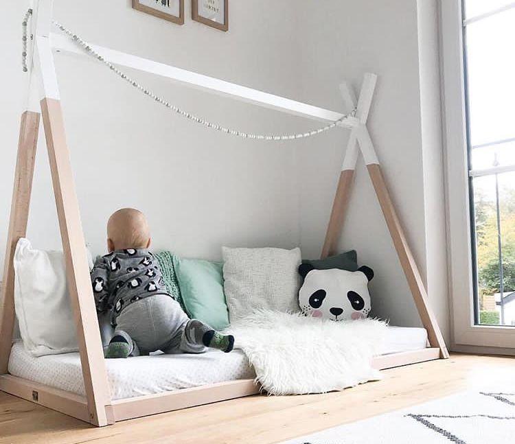 Tipi Bett ANDO in 70x140 und 90x200 online kaufen Tipi