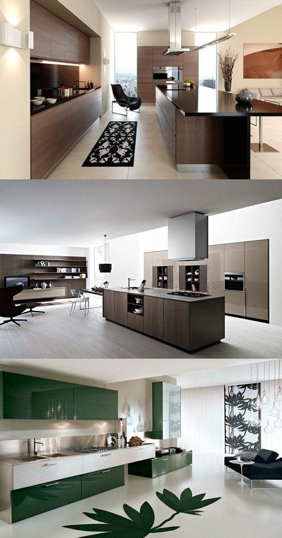 Beautiful Modern Minimalist Kitchen Designs -- Essentials ...