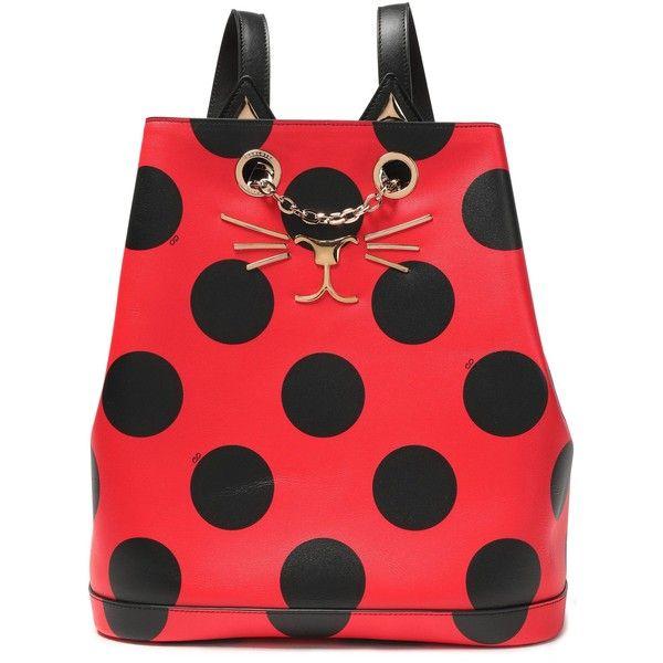 3b4b0f3e7a1f CHARLOTTE OLYMPIA Embellished printed leather backpack (2