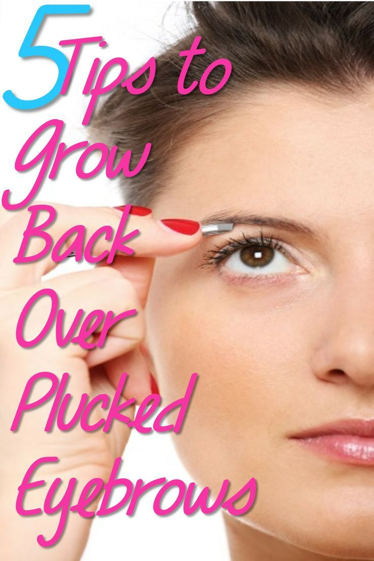 How Long Does It Take For Eyebrows To Grow Back After ...