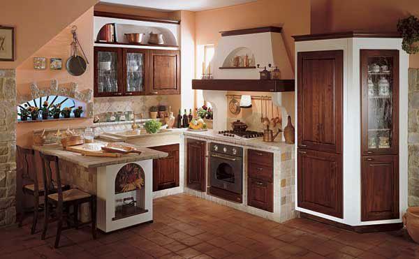Cucine in muratura rilievo fraz di trapani trapani for Decorazioni cucina fai da te