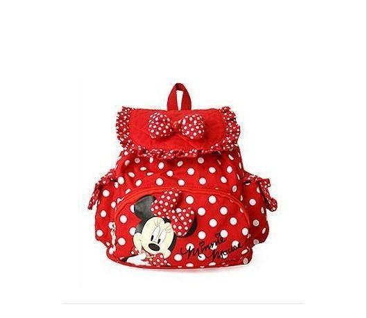 958d6f0055c HOT Small Minnie Mouse Little Baby Children Girls Backpacks Cartoon School  Bag for Kids