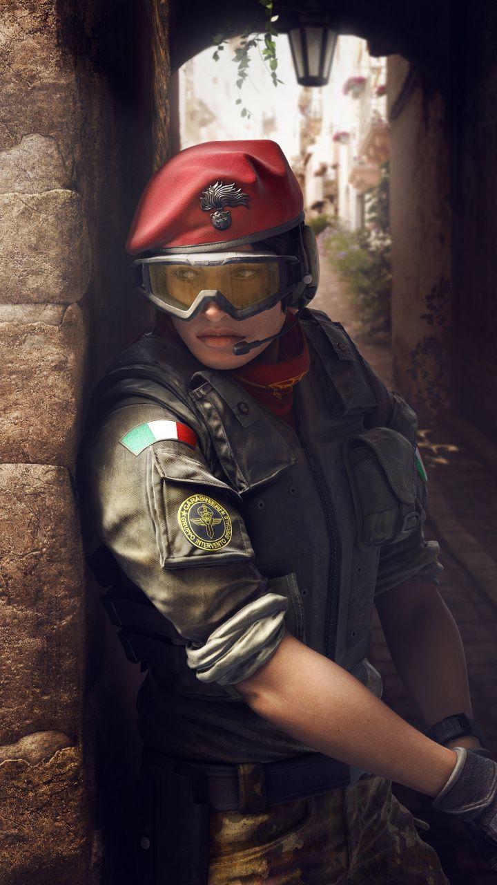 Alibi tom clancys rainbow six siege video game 2018
