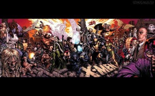Papel De Parede Marvel Men
