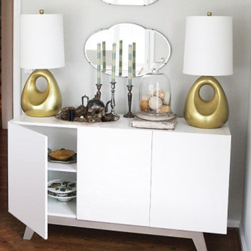 Great multi purpose piece for dining room sideboard for Multi purpose living room ideas