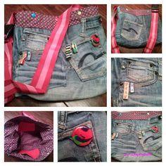 By Sumpfhuhn - nähen macht glücklich: Uprecycling - meine Jeans wird ne Tasche