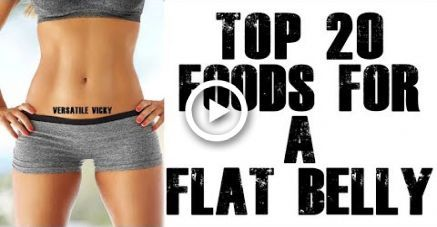 20 Foods To Eat For A Flat Belly / Flat Stomach #food #fitness