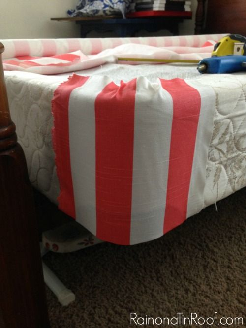 Best Super Easy No Sew Upholstered Box Spring Upholstered Box 400 x 300