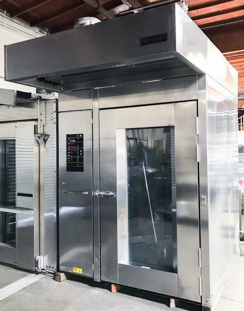 Hobart HBA2G Double Rotating Rack Gas Bakery Oven VERY