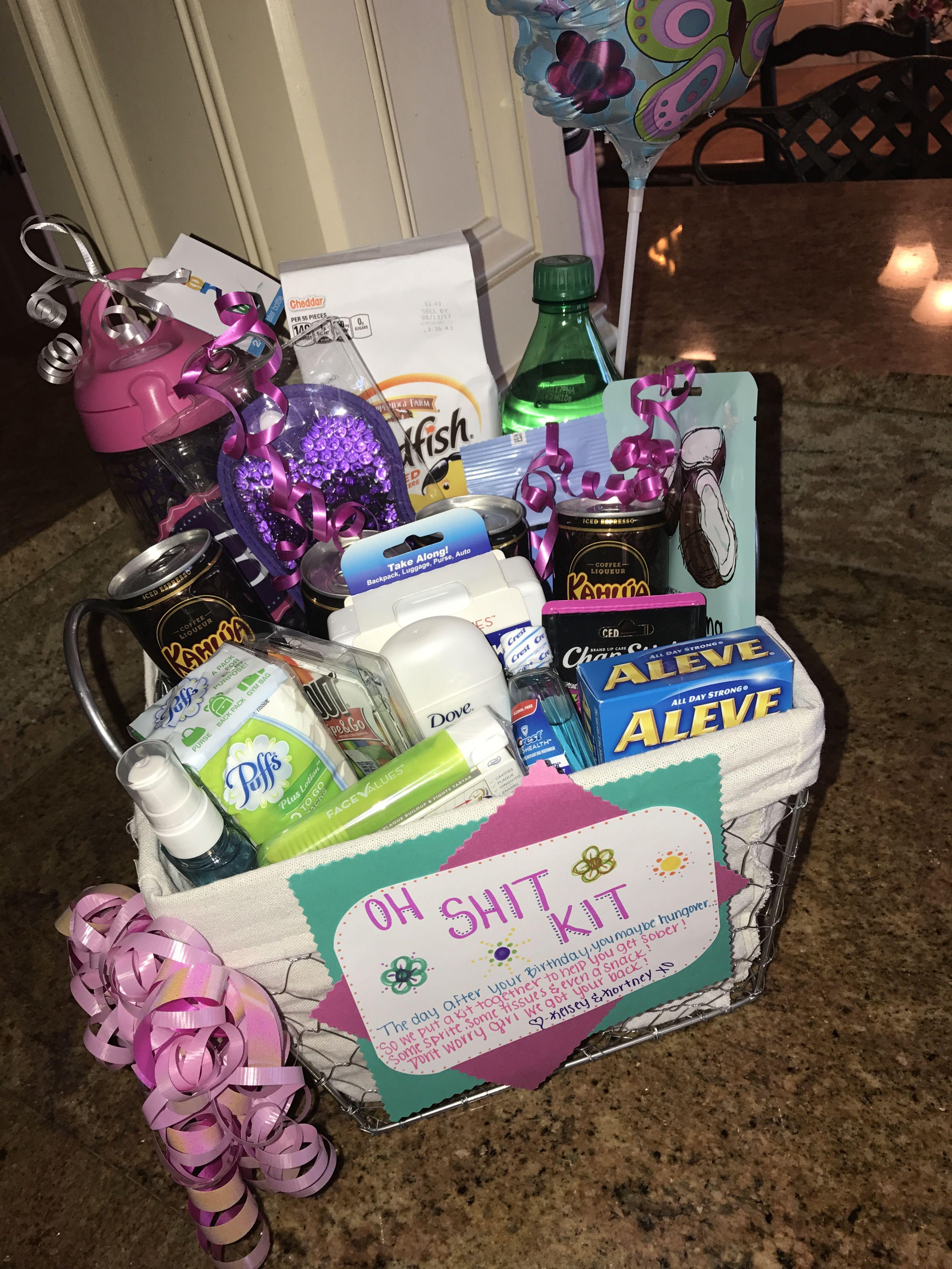 21st birthday oh shit kit home 21st birthday gifts