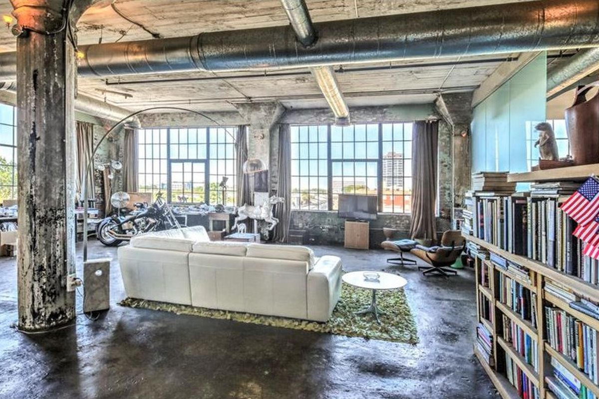 For 425K, this downtown Atlanta loft brings industrial A