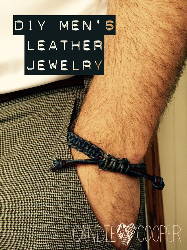 Photo of Make it Manly: DIY Men's Leather Jewelry #