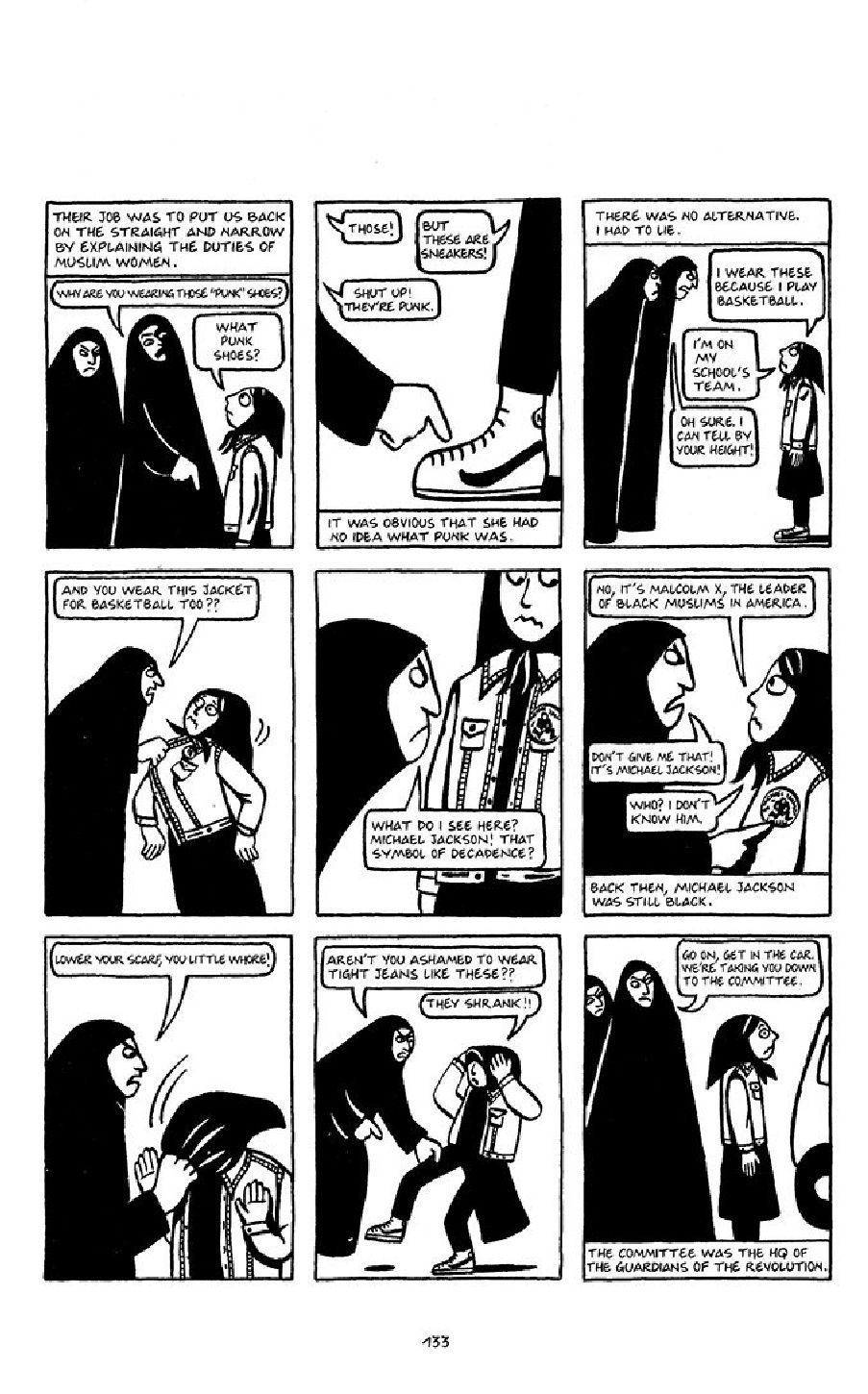 Satrapi Persepolis 1 English Comic Books Cartoon Books Books